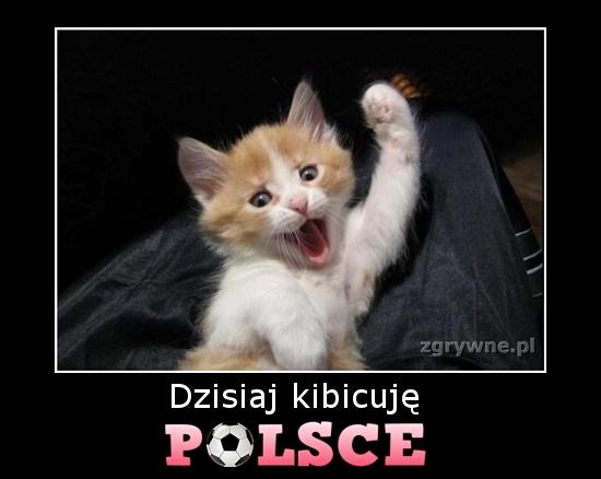 Dzisiaj kibicuję POLSCE