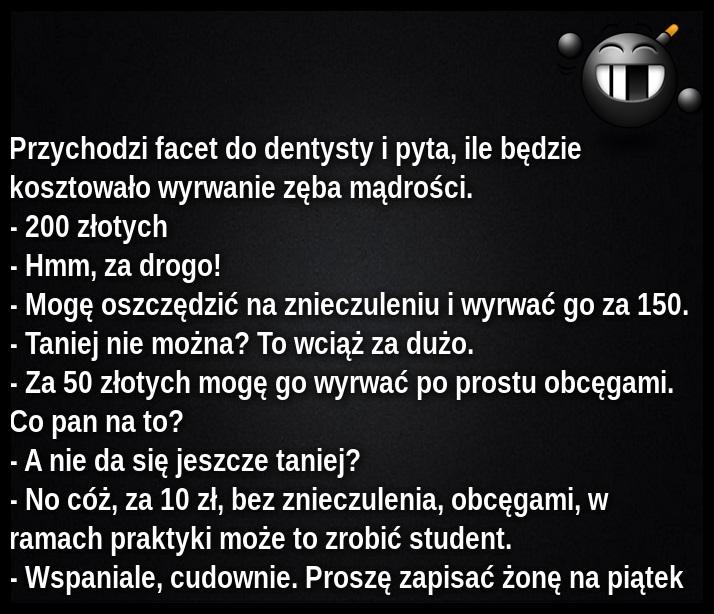 Ha ha ha ...Ząb mądrości :)