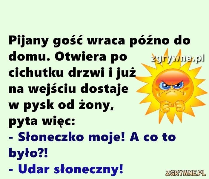 Udar słoneczny... :)