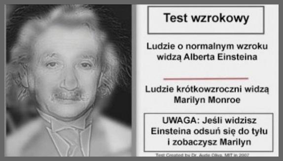 test wzrokowy