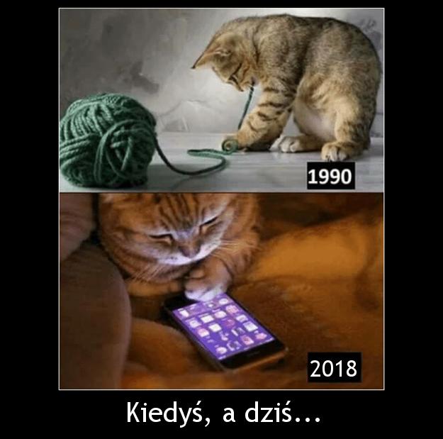 Kiedyś, a dziś...