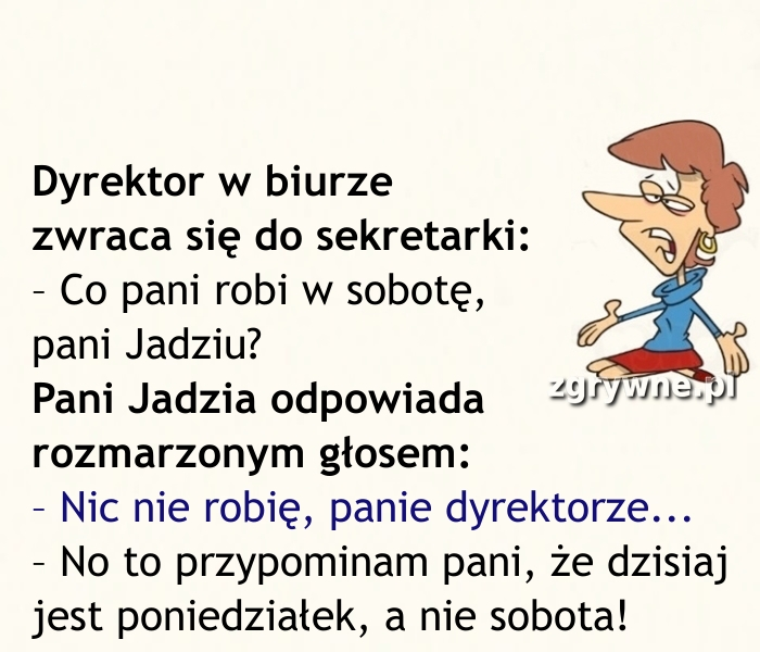 A to drań... (Y)