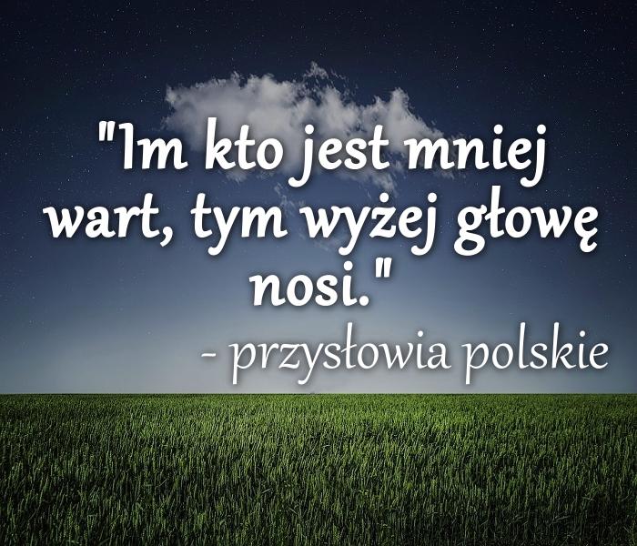 Przysłowia polskie...