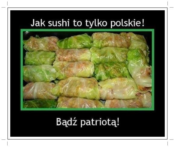 Polskie sushi.