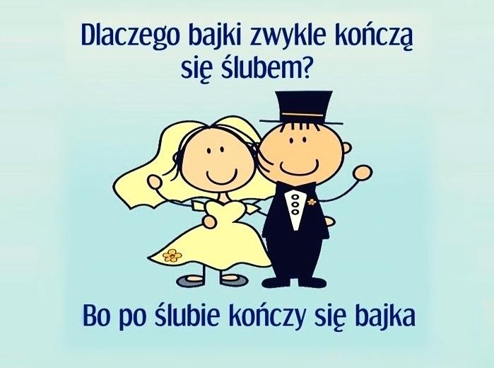 Dlaczego bajki zwykle kończą się ślubem?