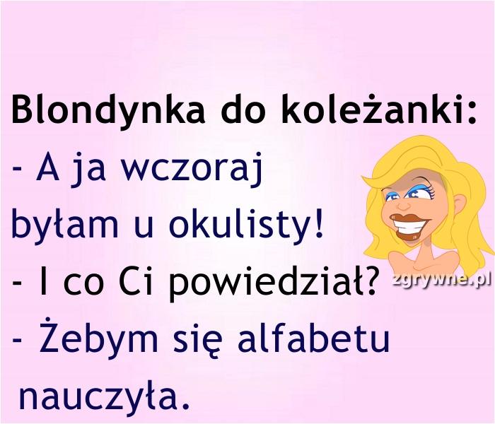 Alfabet to podstawa... :)