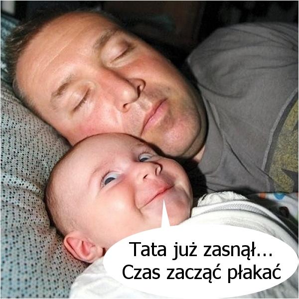 Mały zgrywus... :)
