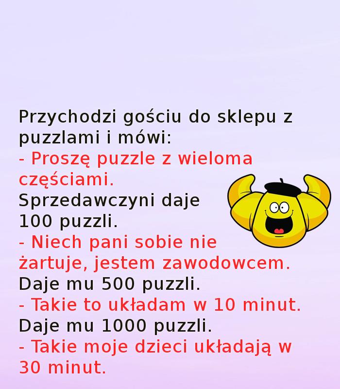 Takie puzzle... :)