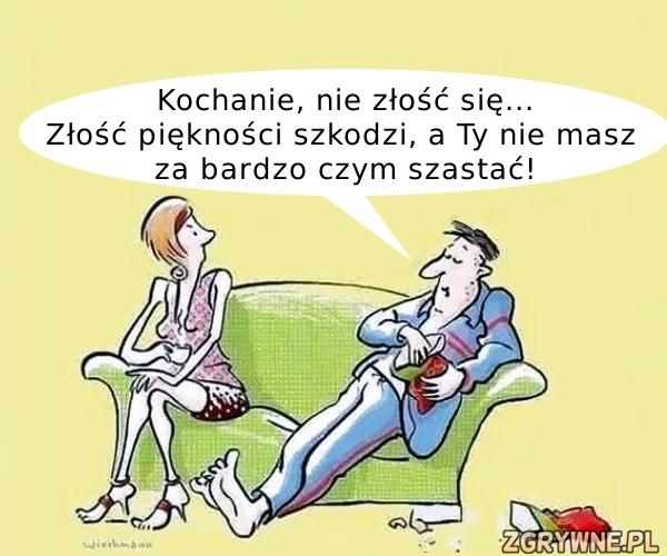 Szczerość w małżeństwie to podstawa ... ;)