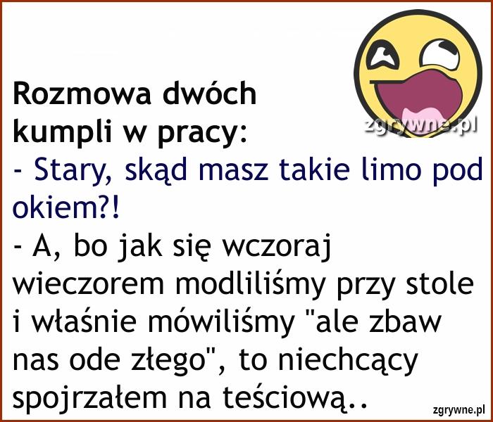 Ha ha ha... Wymowne spojrzenie :)