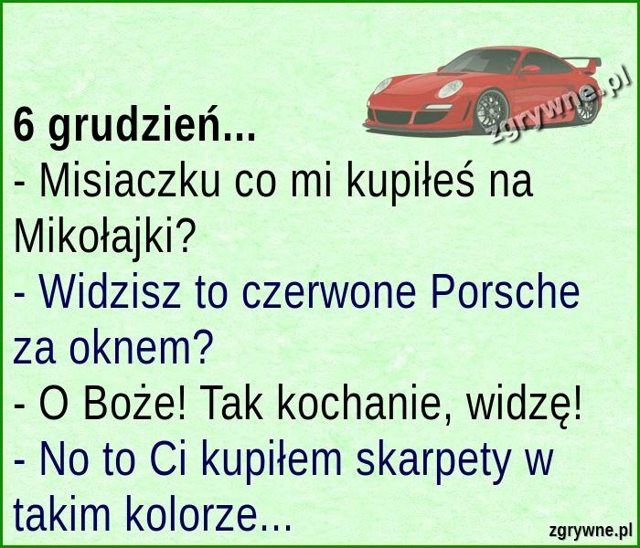 Dobry kawał na Mikołajki :)