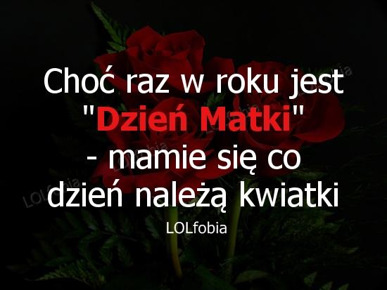 Kwiatki na Dzień Matki.