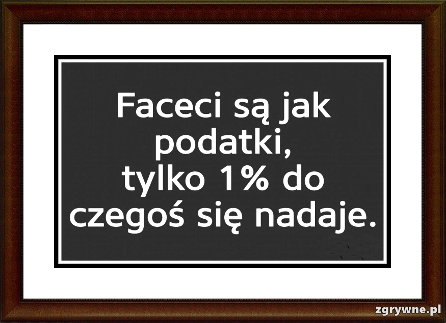 Jacy są faceci?