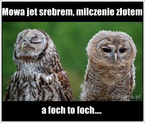 Jak foch to foch...