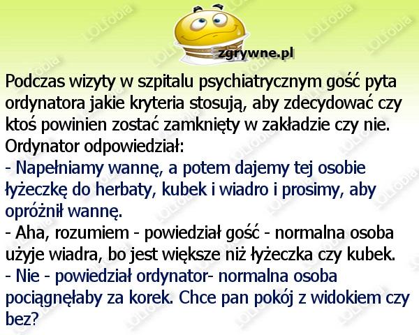 Humor szpitalny :)