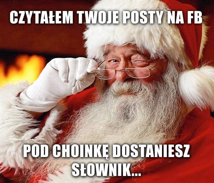 Mikołaj już wie co dostaniesz w tym roku pod choinkę...