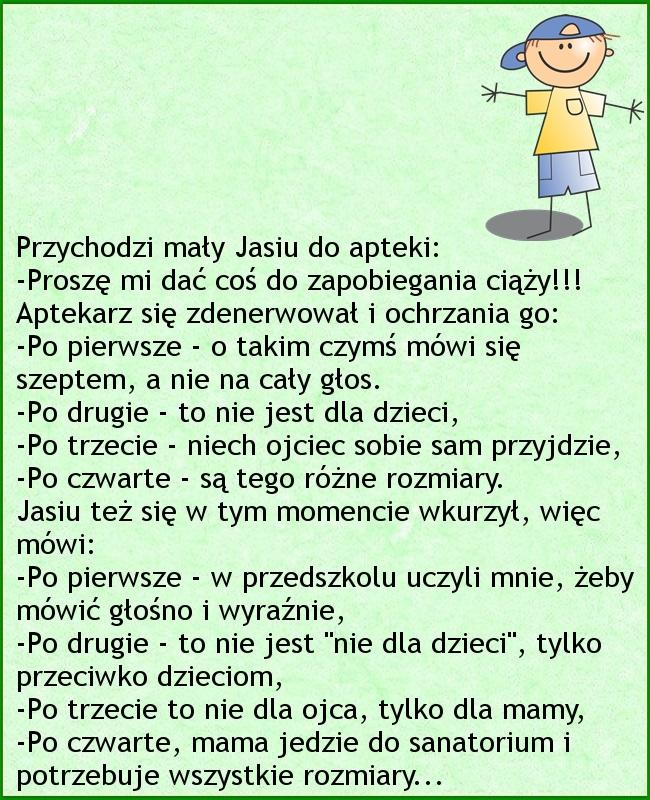 Zaskakująca riposta Jasia :)