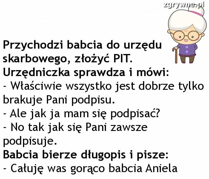 Babcia zgrywuska :)