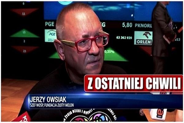 Jurek Owsiak z powrotem  prezesem Fundacji WOŚP