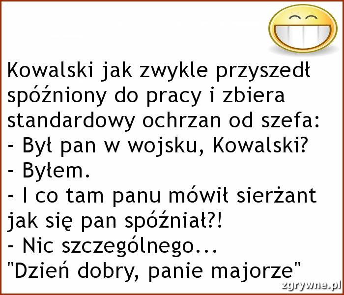 Humor o Kowalskim...:)