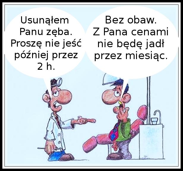 humor dentystyczny... :)