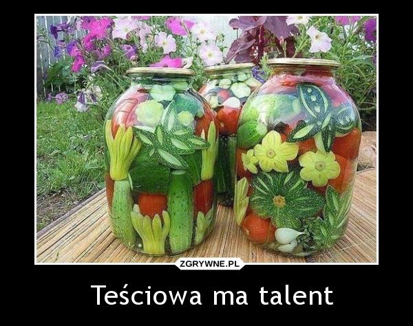 Teściowa ma talent.
