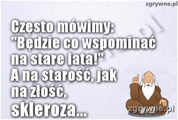 Skleroza...