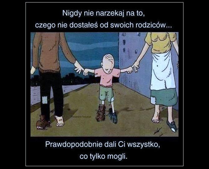 Prawdziwe memy o rodzicach...