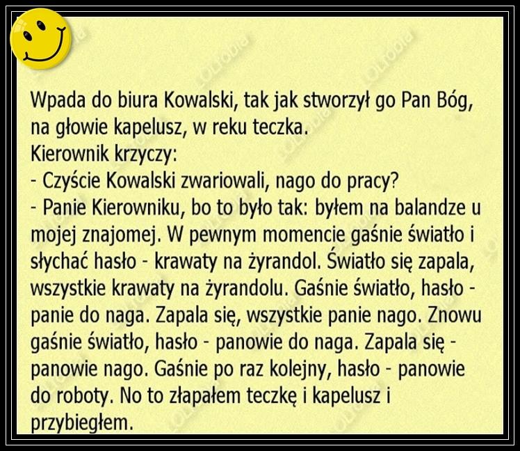 O Kowalskim na wesoło...:)