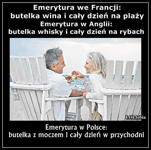 Emerytura w Polsce...
