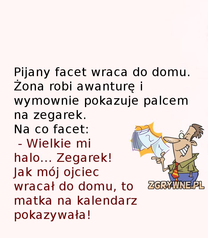 Błyskotliwe tłumaczenie męża... :)