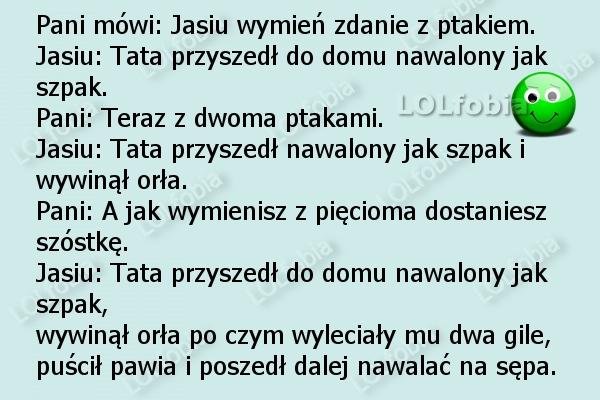 Dowcipy o Jasiu...