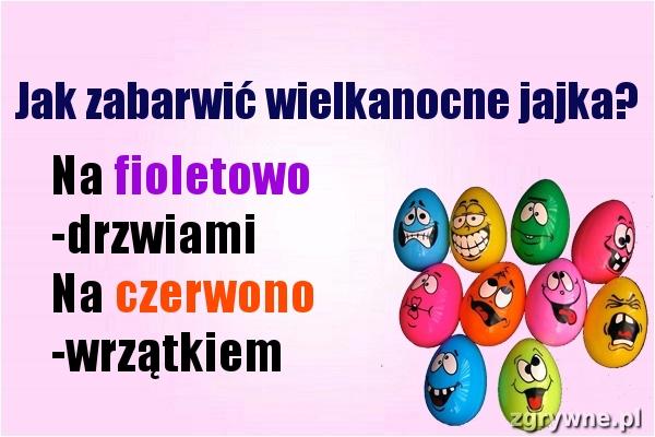 Jak zabarwić wielkanocne jajka? :)