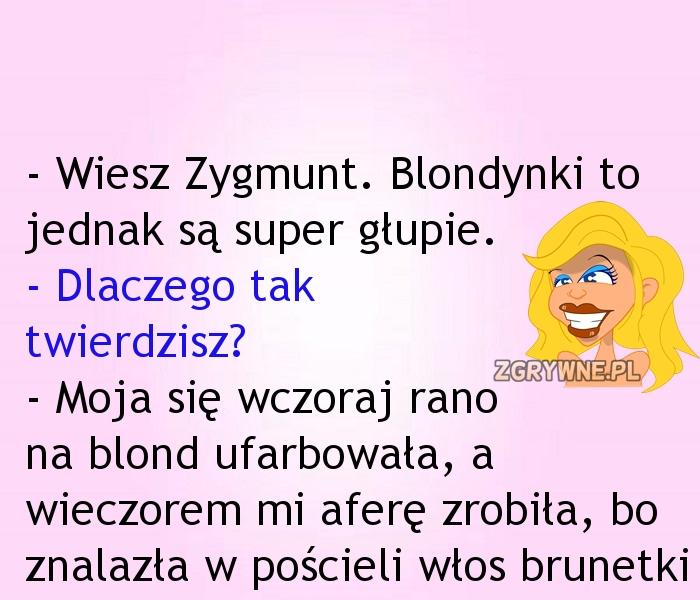 Ach... Te nasze kochane blondyneczki ;)
