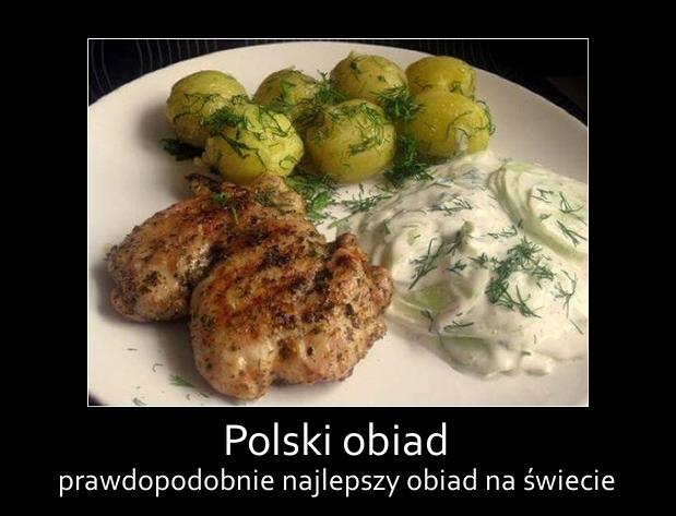 Polski obiad - prawdopodobnie najlepszy obiad na świecie.