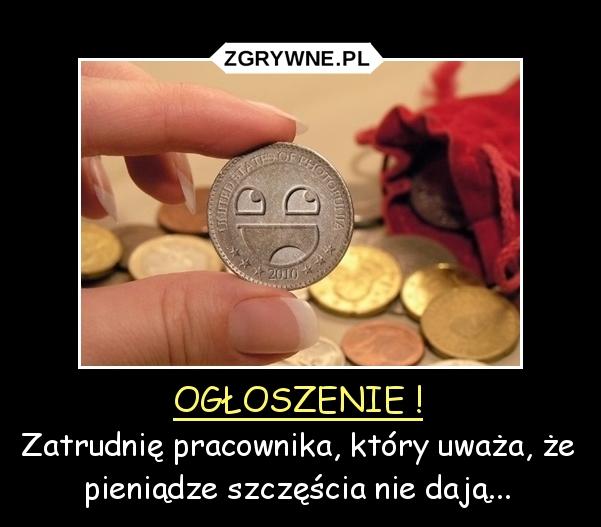 Za śmieszne pieniądze... :)