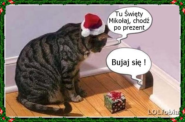 Śmieszne obrazki na Mikołajki...:)