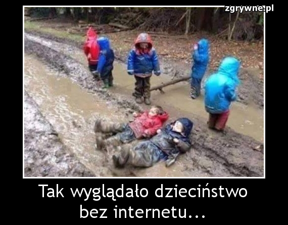 Tak wyglądało dzieciństwo bez internetu...