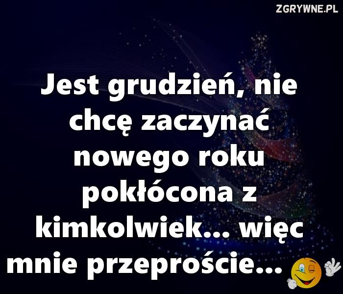 """""""Nowe otwarcie"""" na Nowy Rok :)"""