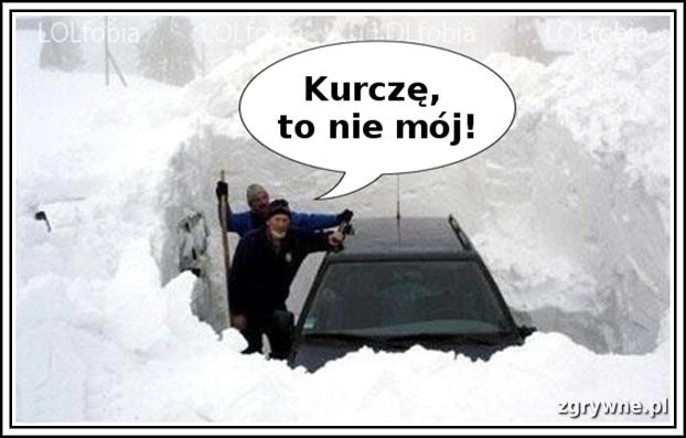 W tym roku zima znów zaskoczyła kierowców...